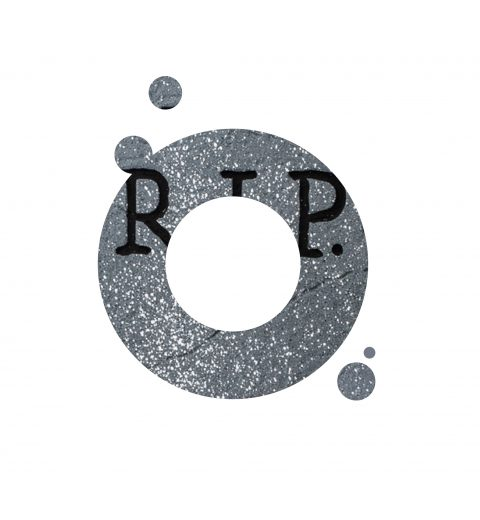 Logo RIP Verdwenen logo's