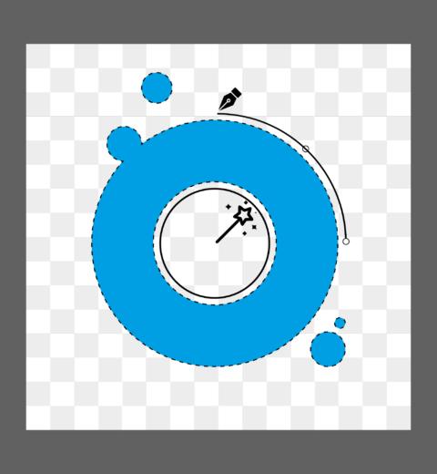 Logo uitsnijden in Potoshop
