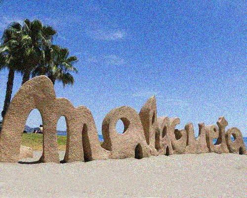 logo beach malaga