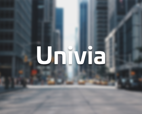 Lettertype Univia